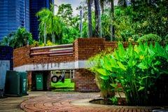 Trädgård i Thailand Chatuchak 42 Arkivfoto