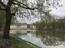 Trädgård i Warszawa fotografering för bildbyråer
