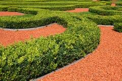 trädgård landskap prydnadar Arkivbild