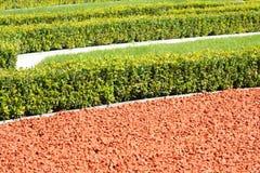 trädgård landskap prydnadar Arkivfoton