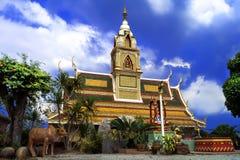Trädgård och Wat. Royaltyfri Bild