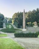 Trädgård på Palazzo Pitti Royaltyfri Foto