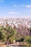 Trädgårdar Amman i Jordanien Royaltyfria Foton