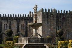 Trädgårdar av Santa Barbara, Braga Royaltyfria Foton