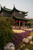 Trädgårdar i den spensliga västra sjön för Yangzhou ` s parkerar Royaltyfria Bilder