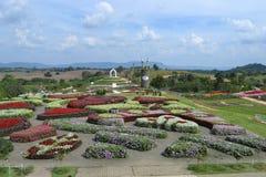 Trädgårdar i Thailand Arkivbilder