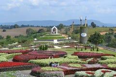 Trädgårdar i Thailand Royaltyfria Bilder