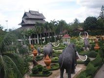 Trädgårdar i Thailand Royaltyfri Foto