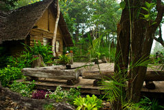 trädgårdar style thai Royaltyfria Bilder