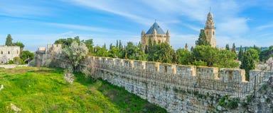 Trädgårdarna av Jerusalem Royaltyfria Foton