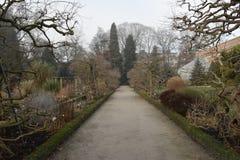 Trädgårdarna av Kruidtuinen i Leuven Arkivfoto