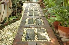 trädgårdbana Arkivbilder