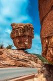 Trädgården av gudarna parkerar, Colorado Springs, colorado Fotografering för Bildbyråer