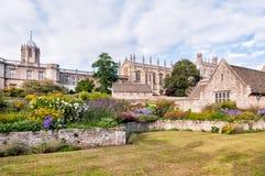Trädgården för krigminnesmärke, Oxford Arkivbild