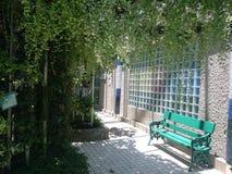 trädgården kopplar av Royaltyfria Foton