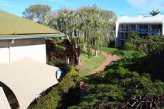 trädgårdhotell Arkivbilder