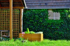 Trädgårds- atmosfär Royaltyfri Bild