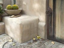trädgårds- avslappnande inställning för öken royaltyfria bilder