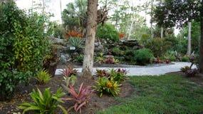 trädgårds- bana Arkivfoto