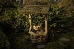 Trädgårds- bana för gräs royaltyfri bild