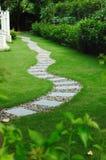 trädgårds- banasten Arkivfoto