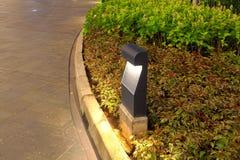 Trädgårds- belysninglampa för bana Fotografering för Bildbyråer