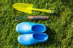 Trädgårds- bevattna för tool fotografering för bildbyråer