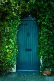 Trädgårds- dörr Arkivbild
