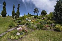 trädgårds- dekorativt Fotografering för Bildbyråer