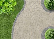 Trädgårds- detalj Arkivbild