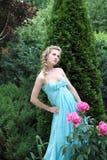 trädgårds- drottning Arkivbild