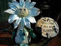 trädgårds- förmyndare Arkivfoto