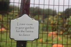 Trädgårds- feer Royaltyfri Bild