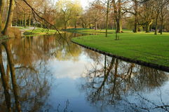 trädgårds- fridsamt Royaltyfri Fotografi