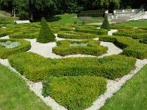 trädgårds- fridsamt Arkivbild