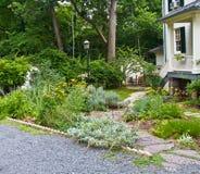 trädgårds- fristad fotografering för bildbyråer
