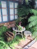 Trädgårds- garnering för engelska Royaltyfri Fotografi