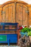 Trädgårds- garnering för tappning Royaltyfri Bild