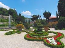 trädgårds- garzoni arkivbilder