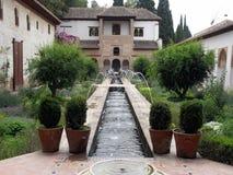 trädgårds- generalife för el Royaltyfri Foto