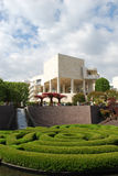 trädgårds- getty museum p Arkivbild