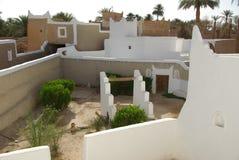 trädgårds- ghadames libya arkivbilder