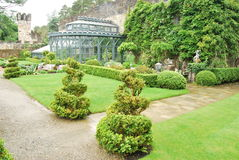 trädgårds- glenveagh ireland arkivfoto