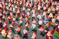 trädgårds- gnomesbunt Royaltyfri Fotografi