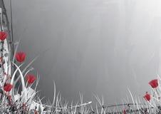 trädgårds- grå vektor Royaltyfri Foto