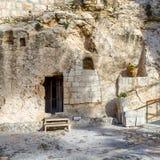 Trädgårds- gravvalv, Jerusalem Arkivbild