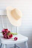 trädgårds- hatt Arkivbild
