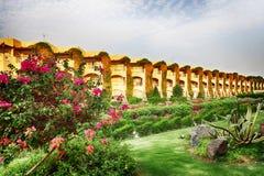 trädgårds- hotell för egyptier royaltyfri fotografi