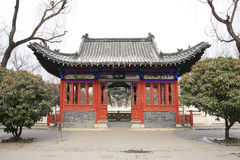 trädgårds- huspaviljong för kines Royaltyfri Fotografi