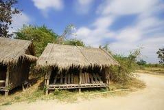 trädgårds- husstil thai thailand Arkivbilder